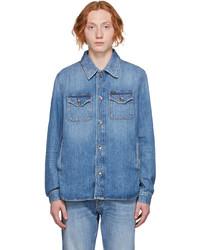 Tiger of Sweden Jeans Blue Denim Get Jacket