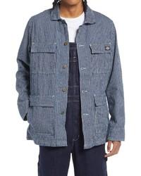 Dickies R2r Stripe Denim Chore Coat