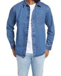 A.P.C. Victor Denim Shirt Jacket