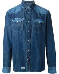 Armani Jeans Western Denim Shirt