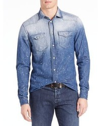 Tomas Maier Artistic Wash Denim Shirt