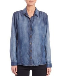 Bella Dahl Button Front Denim Shirt