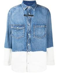 Givenchy Bleached Denim Shirt