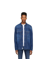 Diesel Blue Denim D Blue Flox Shirt