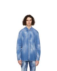 DSQUARED2 Blue Denim Relaxed Dan Shirt
