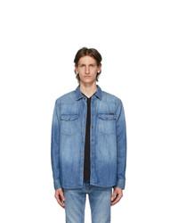 Nudie Jeans Blue Denim Shirt