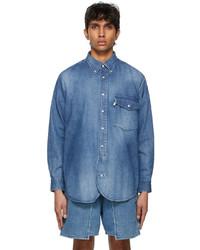Kuro Blue J Press Originals Edition Denim Irving Shirt