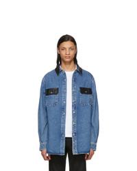 Alexander Wang Blue Oversized Shirt