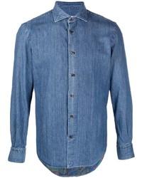Etro Button Up Denim Shirt