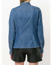 Eleventy Chest Pocket Denim Shirt