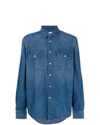 CK Jeans Classic Button Denim Shirt
