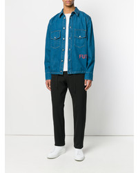 Golden Goose Deluxe Brand Classic Fitted Denim Shirt