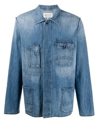 Maison Margiela Concealed Fastening Denim Shirt
