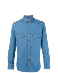 Canali Denim Shirt