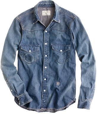5aff083c300 Chimala Denim Western Shirt