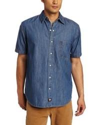Dickies Short Sleeve Denim Work Shirt