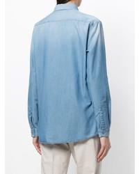 Fabiana Filippi Embellished Patch Pocket Shirt
