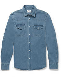 Acne Studios Ewing Washed Denim Shirt