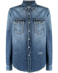 Givenchy Faded Effect Denim Shirt