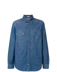Notify Fitted Denim Shirt