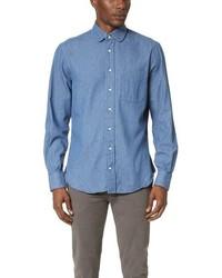 Gitman Brothers Gitman Vintage Pub Collar Denim Shirt