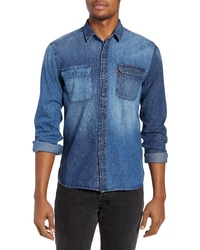 Levi's Jackson Pieced Denim Shirt