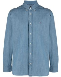 Tommy Hilfiger Lightweight Denim Regular Fit Shirt
