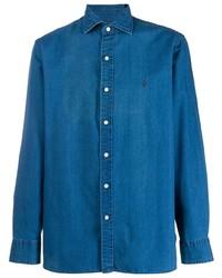 Polo Ralph Lauren Logo Embroidered Denim Shirt
