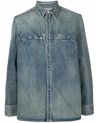 Givenchy Long Sleeve Denim Shirt