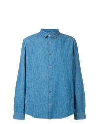 A.P.C. Long Sleeve Denim Shirt