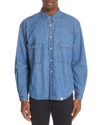 Bedwin&the Heartbreakers Marshall Denim Shirt