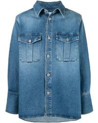 Loewe Patch Pocket Denim Shirt