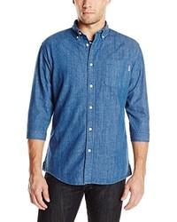 Publish Brand Inc Daner 34 Sleeve Denim Shirt
