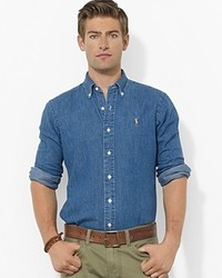 Ralph Lauren Polo Denim Classic Fit Button Down Shirt