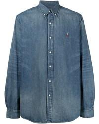 Polo Ralph Lauren Repaired Classic Fit Denim Shirt