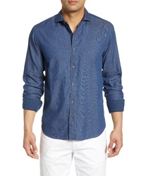 Bugatchi Shaped Fit Button Up Shirt