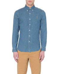 Polo Ralph Lauren Slim Fit Denim Sport Shirt