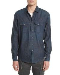 Belstaff Somerford Denim Sport Shirt