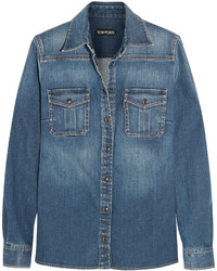 Tom Ford Stretch Denim Shirt
