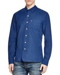 Levi's Sunset Selvedge Denim Slim Fit Button Down Shirt