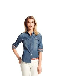 c37b1c64 Women's Shirts by Tommy Hilfiger | Women's Fashion | Lookastic.com