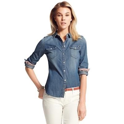 In China Cheap Online Official Sale Online Tommy Hilfiger Denim Regular Shirt Pay With Visa Sale Online Discount Clearance Outlet Release Dates p68btYG