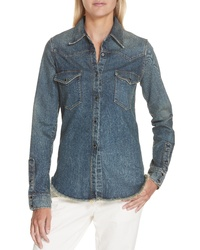 Nili Lotan Travis Denim Shirt