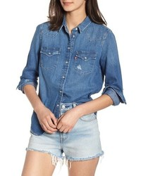 Ultimate western denim shirt medium 8851822