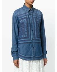 Saint Laurent Vintage Print Shirt