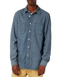 Washed denim shirt medium 4342812