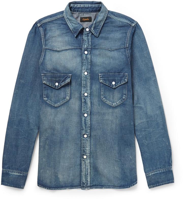 6532c13811 ... Chimala Western Denim Shirt ...
