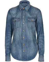 Polo Ralph Lauren Western Style Jean Shirt