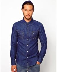 cfa9b687 Wrangler Men's Denim Shirts from Asos | Men's Fashion | Lookastic.com