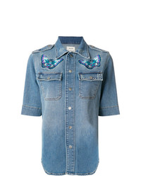 Zadigvoltaire tex denim shirt medium 7801916